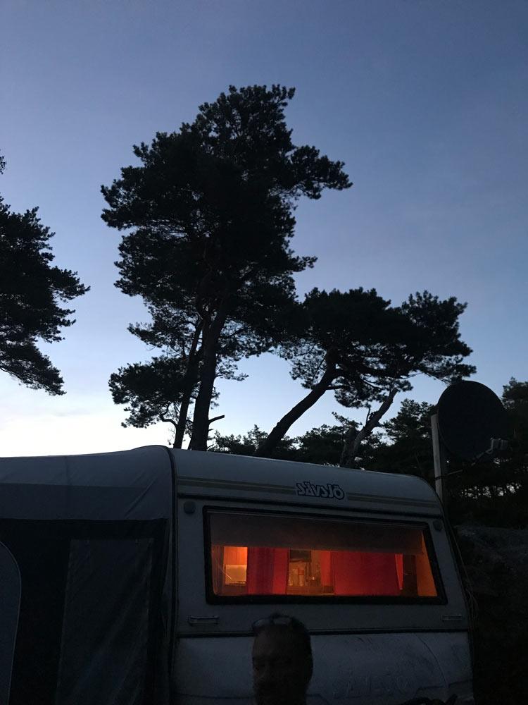 Fjällbacka Camping - Evening