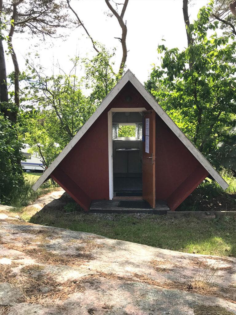 Fjällbacka Camping - Minibungalow front